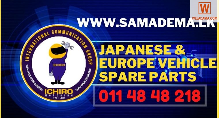 japanese and europe spare parts in sri lanka