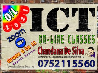 💻 ICT On-Line Classes from Grade 6 to 11 (O/L)