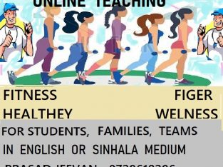 ONLINE FITNESS TRAINING/ PT LESSONS FOR STUDENTS