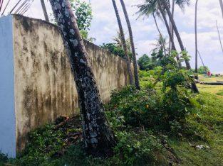 Wadduwa beach front land for sale