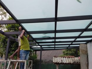 Tempered glass work and all glass work.