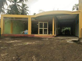 Commercial Building & Land Sale in Poruwadanda