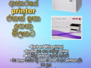 xerox phaser 3020 printer