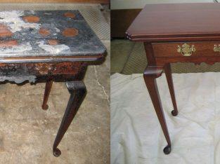 Wooden Furniture Polishing