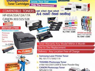 Printer toner and Copier toner