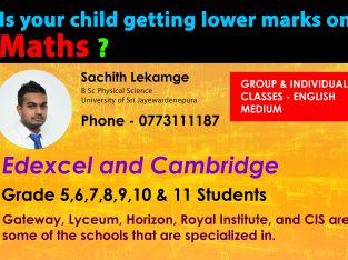 Maths Classes for Edexcel