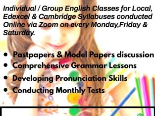 Join with us to learn your English perfectly !