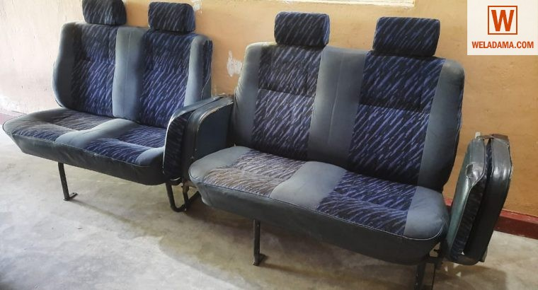 Seat set for a van (used)
