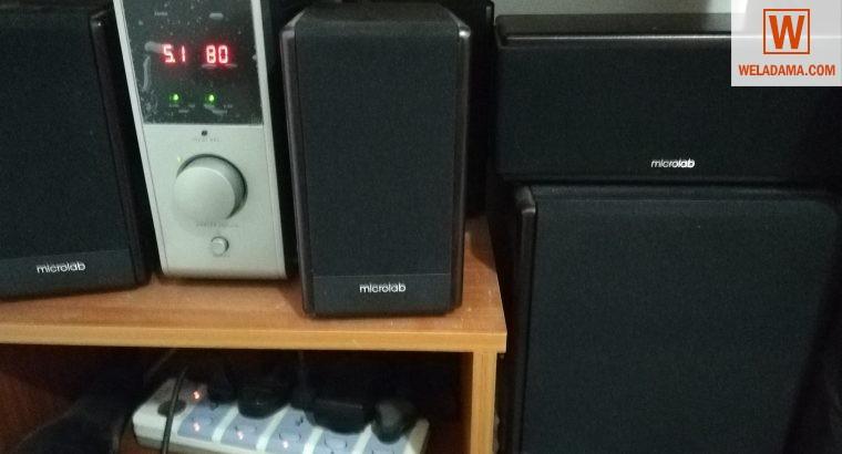 Microlab FC730 5.1 subwoofer