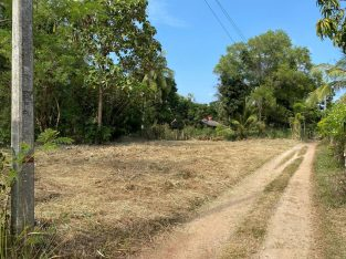 Crown titled 22.86p bare land for sale- kurunegala