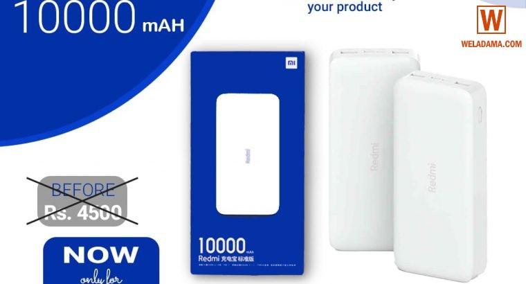 Xiaomi Mi Redmi Power Bank 10,000mAh