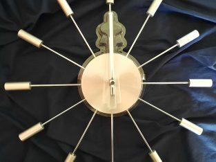 Modern metal designer large wall clock