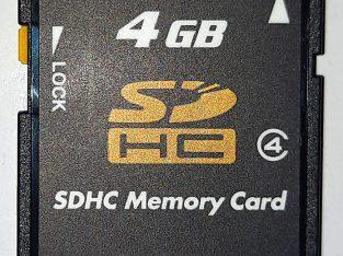 Original Japanese Toshiba High-speed 4GB SD Card