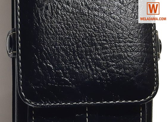 Universal Smartphone Premium Vertical Leather Carr
